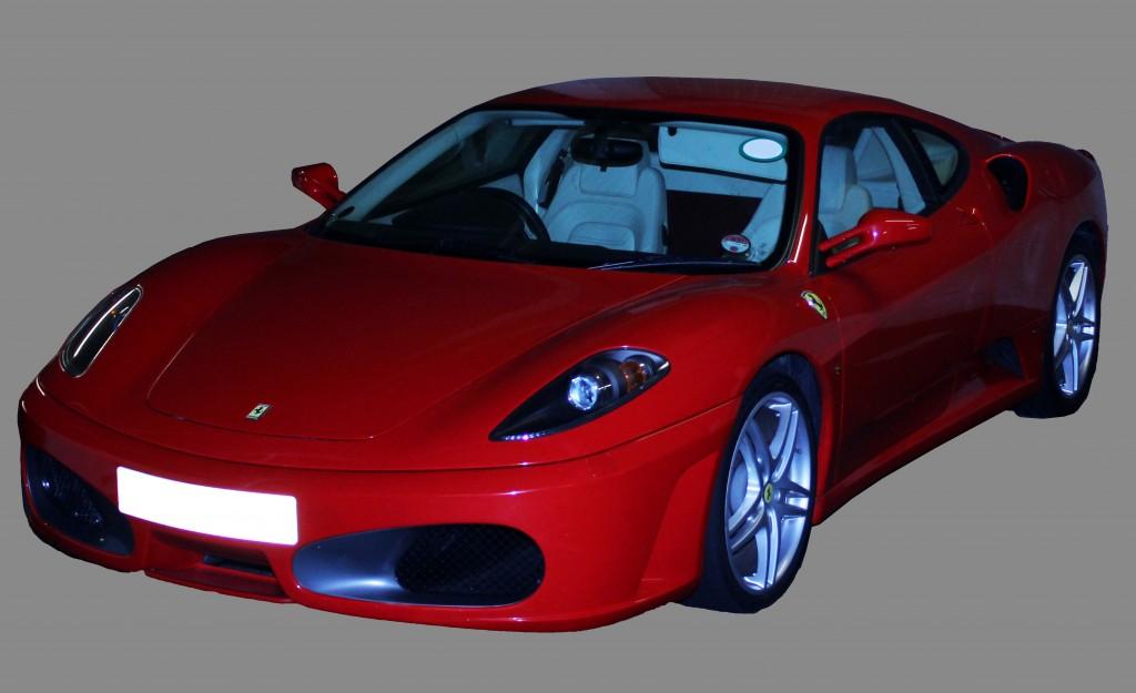 Ferrari 360 photoshoot Suffolk Photo Studio Car Photography