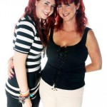 White Infinity Curve Huggins Mother and Daughter Voucher Day