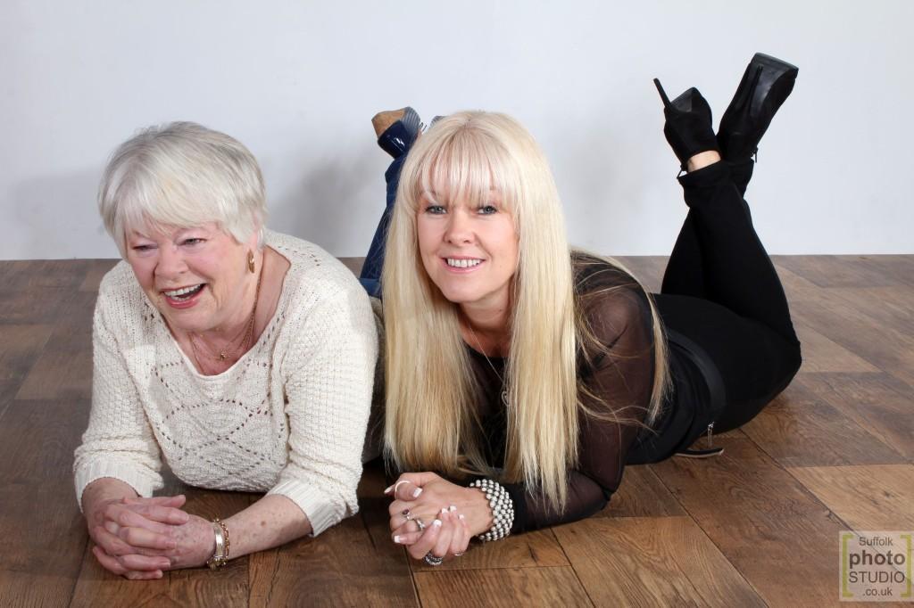 mum & daughter Suffolk